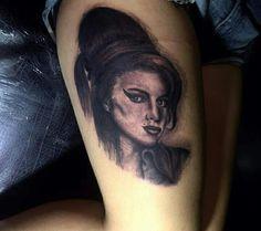 #portrait #tattoo #amywinehouse