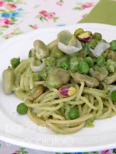 La ricetta segreta per un pesto di fave perfetto|Spaghetti con le fave