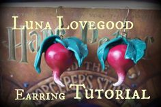 This is a quick and easy tutorial on how to make your own adorable Luna Lovegood earrings from polymer clay. Thank you for watching. I hope this tutorial was...