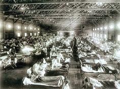 De Spaanse griep.
