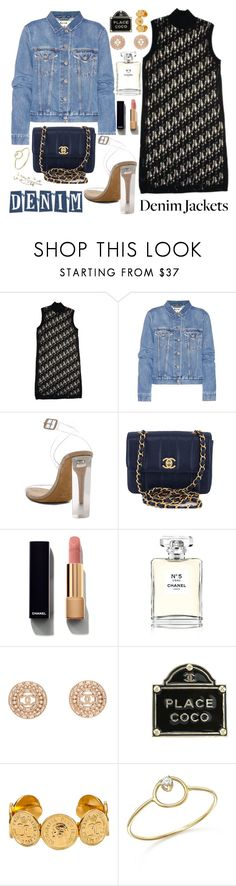 """""""Trouble maker"""" by carolsposito ❤ liked on Polyvore featuring Chanel, Acne Studios, YEEZY Season 2, ZoÃ« Chicco and Pier 1 Imports"""