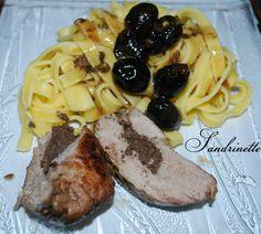 filet mignon aux olives noires