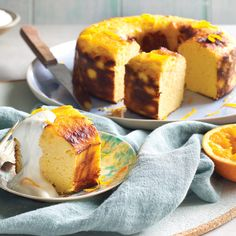 Orange dream cake ?- #gluten free