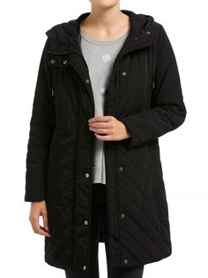 Black Soft Quilted Jacket