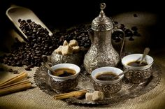 Serving of Turkish Coffee