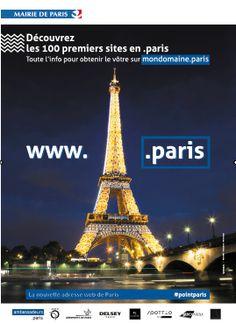 la nouvelle adresse web de Paris. Ce mercredi 4 juin, la tour Eiffel accueille la soirée de lancement officielle des noms de domaine en .paris !  Ambassadrice de l'image de Paris dans le monde, est le rôle que joue la tour Eiffel depuis 125 ans !