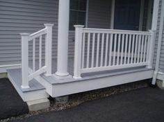 Porch railing Front Porch Railings, Front Door Porch, Outdoor Ideas, Outdoor Decor, Decks And Porches, Diy Ideas, Home Improvement, Recipies, New Homes