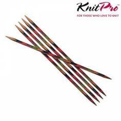 KnitPro strømpepinde 20 cm, 2½-7 mm