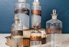 English Chemist Apothecary Bottle
