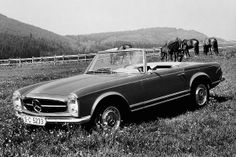 fficially, this roadster is known as the Mercedes-Benz W113. And there were three models: the 230SL (1963-1967), the 250SL (1966-1968) and the 280SL (1967-1971—pictured here).