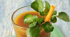 watercress and orange
