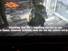 Dark souls 2 matrix quote