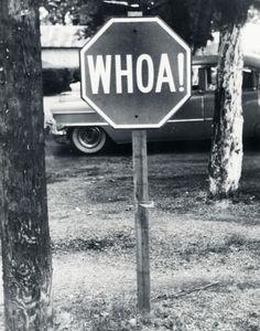 redneck stop sign? LOL