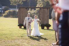 rustic wedding ceremony entrance ~  we ❤ this! moncheribridals.com