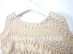 Hairpin Crochet Lace Summer Tops Floral Blouse Beach Cover Up, Crochet Tunic Tops Free Shipping