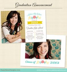 73 Best Senior Marketing Templates Graduation Announcement
