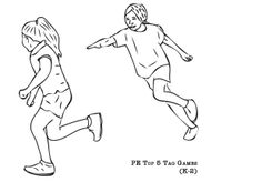 """PE Activities: """"Locomotor Movement""""- 25 Movement Cards and"""