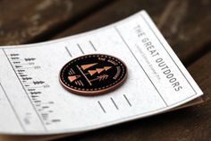 The Great Outdoors Enamel Pin - Free UK Postage - Black & antique copper   Limited Edition Badge   Lapel Pin Forest Badge   Mountian Button by JoshHurleyillo on Etsy https://www.etsy.com/listing/465219785/the-great-outdoors-enamel-pin-free-uk