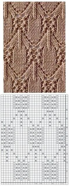 Irina: Knitting Stitches Gallery (needles) Source by . Irina: Knitting Stitches Gallery (needles) Source by Seidenliebhaber Lace Knitting Stitches, Lace Knitting Patterns, Knitting Blogs, Knitting Charts, Lace Patterns, Loom Knitting, Knitting Needles, Stitch Patterns, Knitting Machine