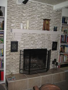 28 Best Fireplace Refacing Images Fireplace Remodel Reface