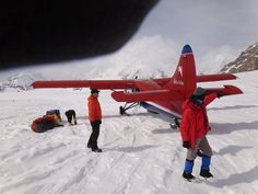 It takes dedication and a small plane to get to Denali