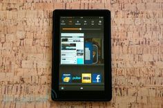 Amazon Kindle Fire review from Engadget.