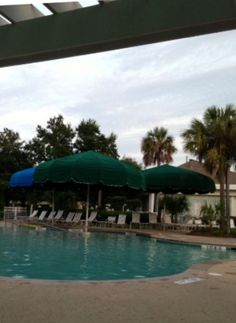 Outdoor pool at Town Center, Sun City Hilton Head