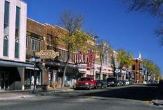 Historical downtown Fergus Falls