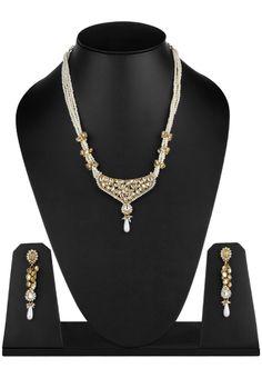 austrian-diamonds-kundan-white-slash-golden-necklace-set-original.jpg (762×1100)