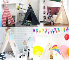Moozle handmade and bespoke teepees on Kids Interiors