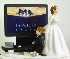 Decorações de bolos de casamento bem nerds | Zona Nerd