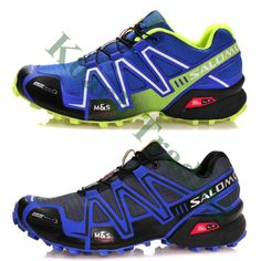 2014 Hot New Men's Salomonlied Speedcross 3 Athletic Running Sports Man Shoes Outdoor US 7-11.5 Wholesale Solomon Trail Racing
