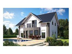 Classic Living 149 - #Einfamilienhaus von Hanlo Haus Vertriebsges. mbH   HausXXL #Stadtvilla #klassisch #Satteldach