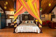 Austen House - Veranda Beach Resort - Phan Thiet, Vietnam Phan, Beach Resorts, Vietnam, Villa, Curtains, Bed, House, Furniture, Home Decor