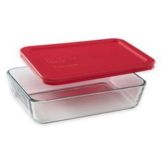 Pyrex® Storage Plus 3-Cup Rectangular Glass Bowl with Cover