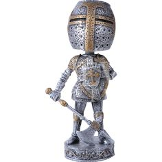 Crusader Knight Bobblehead - CC11339 by Medieval Collectibles
