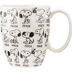 Peanuts Anniversary Snoopy Mug