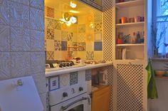 Glam Design : Reforma en Moscú Loft, Interior Design, Bed, Furniture, Home Decor, Blue Prints, Nest Design, Decoration Home, Lofts