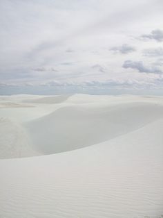 White Sands by Beyond The Blacktop, via Flickr