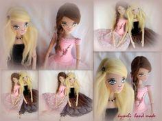 'Erofilli' and 'Danae' OOAK Art Dolls Ballerinas by kymeli Soft Dolls, Ballerinas, Trending Outfits, Handmade Gifts, Unique, Vintage, Art, Kid Craft Gifts, Art Background