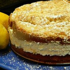 Italian Lemon Cream Cake.  Like Main St Deli?
