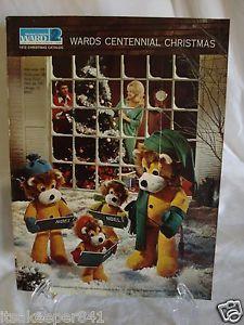 Montgomery Ward Christmas Catalog Wish Book Cover 1972