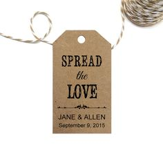 Spread the Love Tag Template   SMALL  DIY by CrossvineDesigns