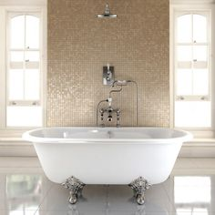 showers above freestanding baths - Google Search