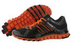 Reebok Realflex Strength TR Mens Training/Running Shoes V46627 Black/Orange, New #Reebok #RunningCrossTraining