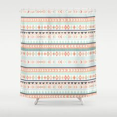 Shop The Latest Coral Shower Curtain Products From Kess InHouse Deny Designs TRMDesignShop On