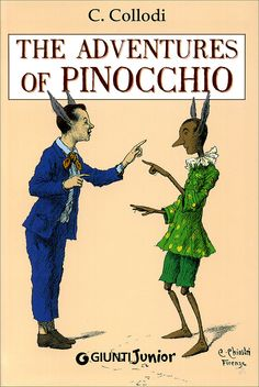 """Every Child and Parent should read the real book.  Great morals and life lessons that will change you. Love it :) """"The Adventures of Pinocchio"""" Carlo Collodi"""