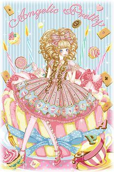 Angelic Pretty Wonder Party