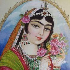 Motif Tradisional Iran | Pesantren Seni Rupa dan Kaligrafi Al Quran Modern PSKQ, pertama di Asia Tenggara
