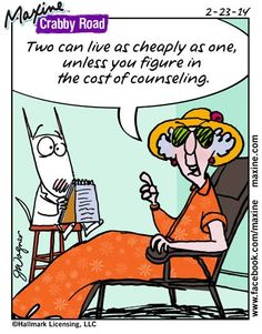 Love this - I AM paying for the counseling. For now, insurance is covering it.